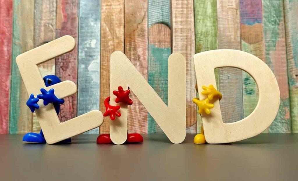 如何寫部落格?掌握這六個重點寫作技巧:技巧六、給讀者一個文章結束的提醒(Closing)