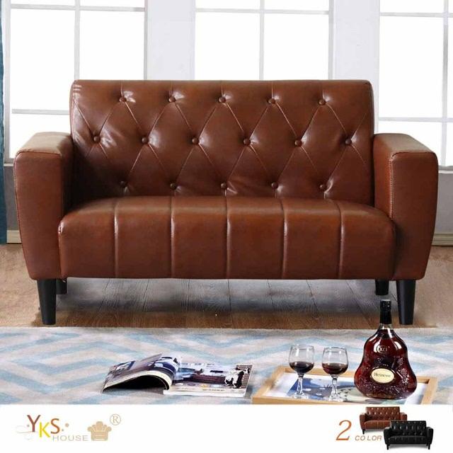 小坪數沙發推薦:YKSHouse 奧斯汀兩人座經典美式復古沙發