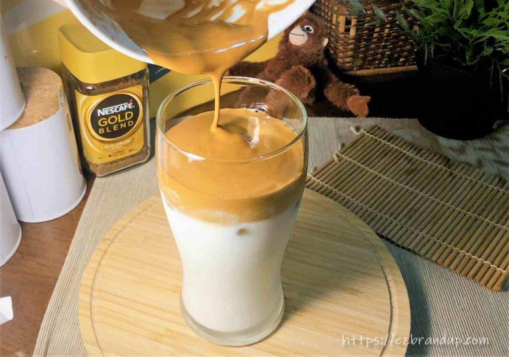 400次咖啡DIY製作最後一步驟:Topping